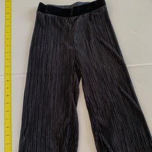 H&M Girls pleated pants